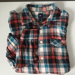 Men's Gap flannel
